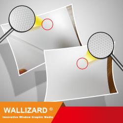 Wallizard UV Clear Pet Wl-Pet115u1c9-Ez Static Film für Glasfensterdekoration