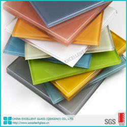 Vidrio de Color pintadas de color de laca/ vidrio/cristal de la puerta pintada