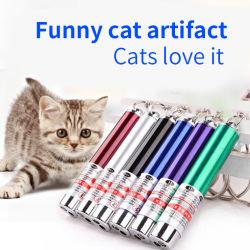 Usine de jouets pour animaux de compagnie drôle en vedette de gros chat de la lumière laser infrarouge Laser Fun Puzzle chat drôle de cat.
