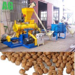 동물 사료 펠릿 제작 라인 부유식 어류 공급 처리 공장을 완료합니다