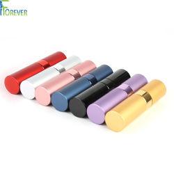 Différentes couleurs Spray Twist Off rechargeables parfum de voyage facile cosmétiques bouteille d'atomiseur