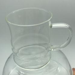 Verre borosilicaté tasse à café tasse Teacup avec poignée