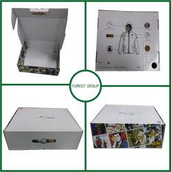 Design de luxe boîte en carton<br/> pour vêtement de l'emballage en carton ondulé