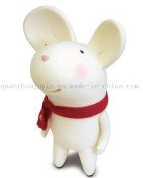 Embarcaciones de plástico suave creativos personalizados Mouse juguete Caja de Ahorro de dinero