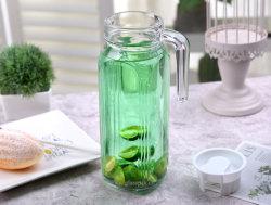 Amazon Hot Sale Flint Glass verseuse en verre de l'eau, l'eau, jus de fruits cruches de Kettle