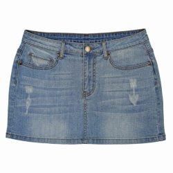 Mesdames et la qualité de Nice jupe populaire Denim (MA-030)