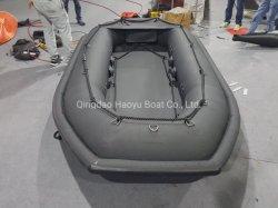 Haoyu Radeau de sauvetage gonflable 3,6 m Bateaux de sauvetage de la Marine en PVC Bateau Bateau de pêche Hypalon