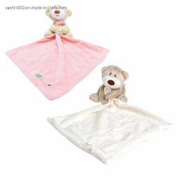 Weiches Tuch-Plüsch-Bären-angefülltes Tier-Spielzeug mit Baby-Tröster-Zudecke