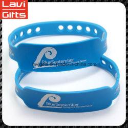 Silicone feito sob encomenda colorido do bracelete da forma com promoção