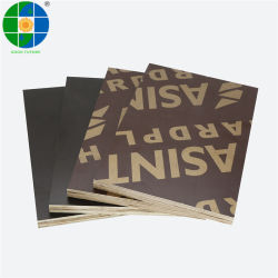 Black Brown Film geconfronteerd Plywood Anti Slip Beton Formwork Board Bouwmateriaal Raad Marine Plywood for Construction