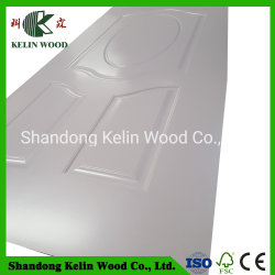 La alta calidad de madera de melamina color blanco/PVC Panel de puerta de MDF