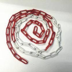 トラフィックのポストの円錐形の鎖の安全道の障壁の鋼鉄警告の鎖