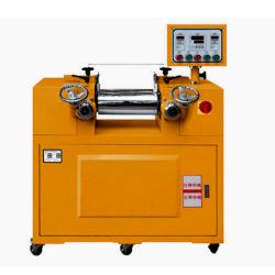 Le mélange de caoutchouc de laboratoire Two-Roll Mini Mill Beurre de laboratoire pour les chaussures en caoutchouc mélangeuse Machine
