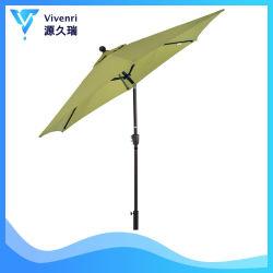 9 футов зонтик открытый дворик во дворе на рынке таблица зонтик 1,5 полюс нажатием одной кнопки