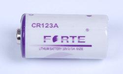 Bateria de lítio 3,0 V CR123A Cr17335 Corrente Máx. da bateria 1400mAh