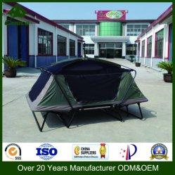 Berço da barraca de acampamento, barraca ao ar livre, base Foldable da barraca