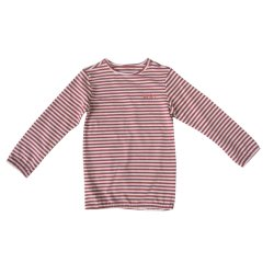 Streifen-T-Shirt des Form-Kind-Abnützung-langes Hülsen-Jungen-Y/D