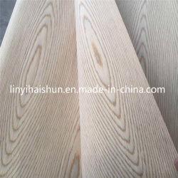 Conçu en bois de placage frêne Recon/Oak/noyer/Sapeli/placage Gurjan