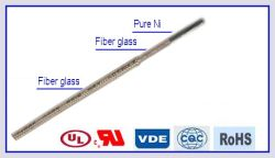 Ruban de mica fil électrique de fibre de verre isolé