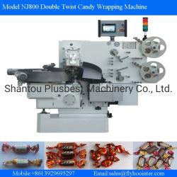 PLC van de servoMotor de Dubbele Verpakkende Machine van het Suikergoed van de Draai Harde