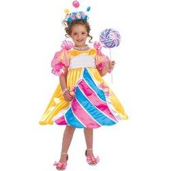 Costume de luxe de l'enfant Candy Princess Kids Costume de gros