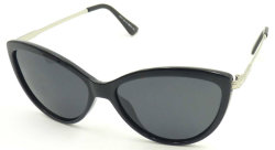 F17170 Cat Eye Sunglass، زجاج شمس معدني رخيص UV400