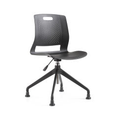 2019 New Design Black Plastic Modern Home Computer Office Chair