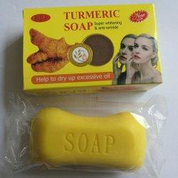 100g Curcuma organiques naturels Soap/Soins de la peau au savon de bain