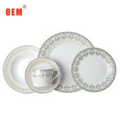 La porcellana di lusso 20PCS di alta qualità della decorazione domestica multa l'osso Cina