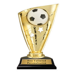 High Quality Customized Gold Trophy Ball Game Competition Honor Award Volley Ball Soccer Competition Trofei Cup