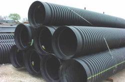12 Pijp van de Duiker van de Muur van de duim de Zwarte Golf Dubbele Plastic voor Afvoerkanaal