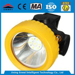 광업 Kj3.5lm LED 휴대용 광부 안전 헬멧 램프