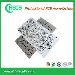 Aluminium2oz leiterplatte LED, die keramische Substratfläche gedruckte Schaltkarte beleuchtet