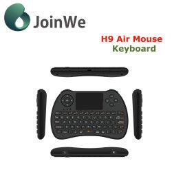 Mäusedrahtlose Miniminitastatur 2.4GHz der Luft-H9