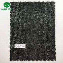 Scrivere tra riga e riga non tessuto di cucitura fusibile dei vestiti del rivestimento del PUNTINO del poliestere di Fw1403s 100%