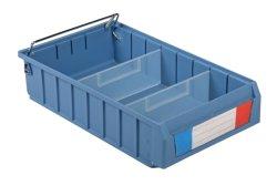 Industrielle materielle Plastikablagekästen und Behälter der Teil-pp. mit Kappe für Lager-Felder