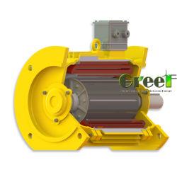 Direct-Drive бесщеточный генератор переменного тока постоянного магнита200КВТ, 350 об/мин