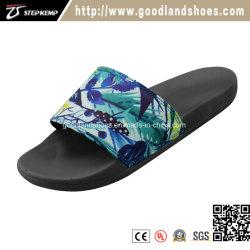 Pistoni variopinti alla moda Qr16061 della gomma piuma di EVA del sandalo della spiaggia dei fiori degli adulti