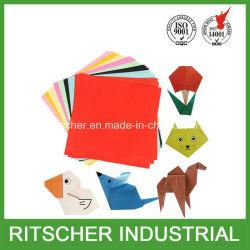 Il documento di Origami del documento di costruzione di colore Handcraft il rifornimento di banco di carta di DIY