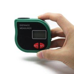 Cp3001 Buscador de rango de Nivel Ultrasónico Telémetro Dispositivo Medidor de distancia con la cinta métrica y pantalla LED