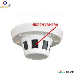 800 TVL de 1/3,5 CMOS Detector de Fumaça Hidden câmara CCTV (SX-2035)
