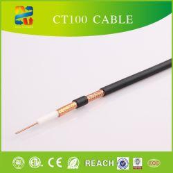 Câble Coaxial Satellite numérique CT100 Câble de cuivre