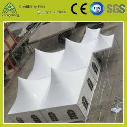 Надувные открытый ребристой поверхности ПВХ-кемпинг палатка