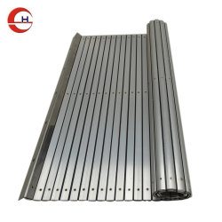 Flexibler Aluminiumwalzen-Vorhang-Schild-Schutz für CNC-Maschine