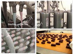 Le chocolat à la guimauve Guimauve extrudé complet de la machine machine machine alimentaire Maker Candy Maker de coton avec la CE (EM120)