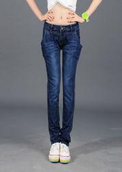 Nouveau Pantalon Slim LA MI-Waisted Slim-Fit Pantalon jeans femmes