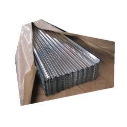 Almacén de acero galvanizado de materiales de construcción de la hoja de hierro ondulado