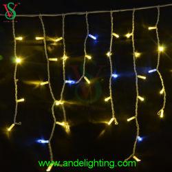 LED cintilantes música Icicle Luzes de Natal