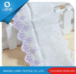 Cariety of Color가 적용된 최신 디자인의 Tricot Knit Lace Fabric