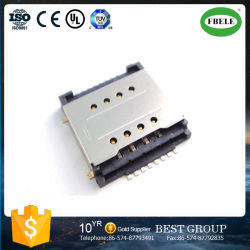 Double carte SIM de haute qualité de la carte connecteur